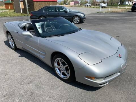 2004 Chevrolet Corvette for sale at Hillside Motors in Jamestown KY