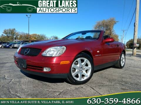1999 Mercedes-Benz SLK for sale at Great Lakes AutoSports in Villa Park IL