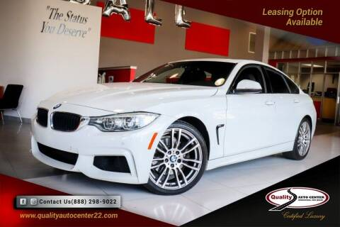 2015 BMW 4 Series for sale at Quality Auto Center in Springfield NJ
