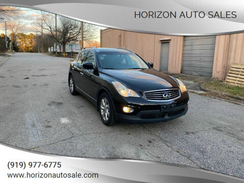 2010 Infiniti EX35 for sale at Horizon Auto Sales in Raleigh NC