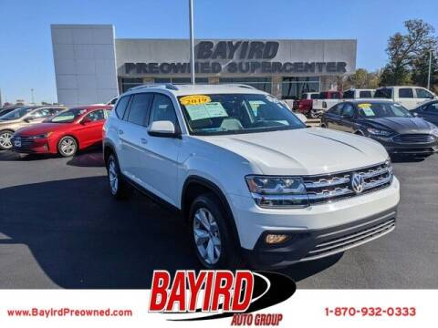 2019 Volkswagen Atlas for sale at Bayird Truck Center in Paragould AR