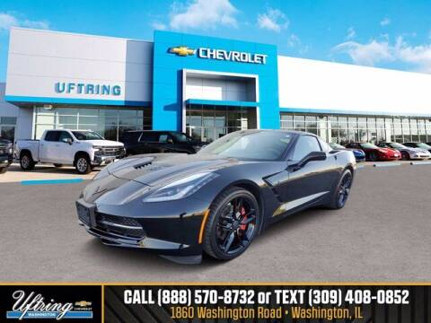 2015 Chevrolet Corvette for sale at Gary Uftring's Used Car Outlet in Washington IL