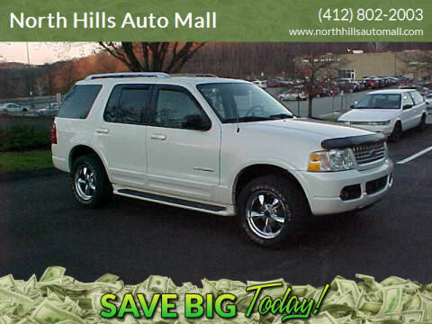 2004 Ford Explorer for sale at North Hills Auto Mall in Pittsburgh PA