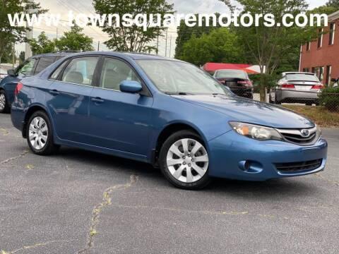 2010 Subaru Impreza for sale at Town Square Motors in Lawrenceville GA
