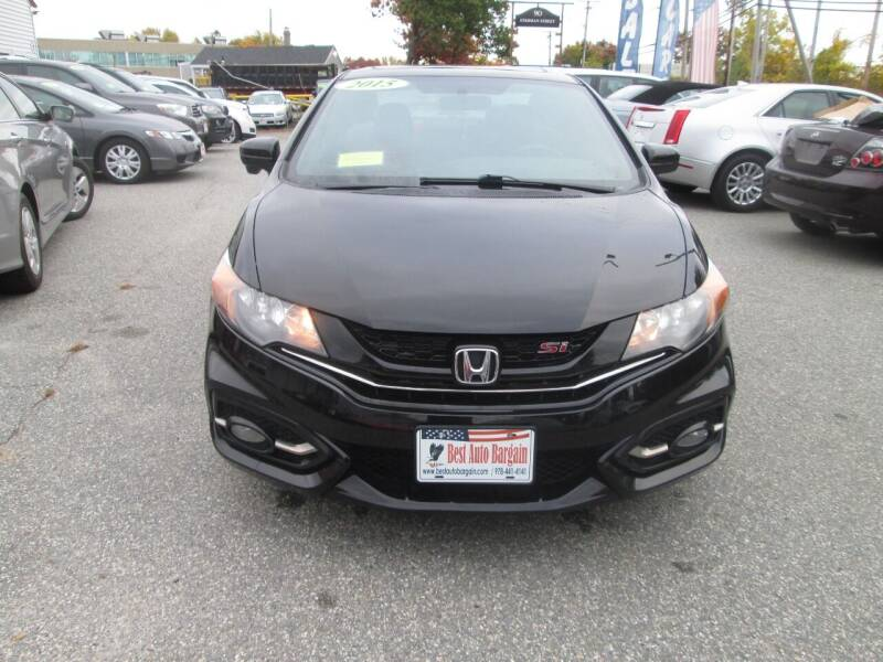 2015 Honda Civic Si 2dr Coupe - Lowell MA