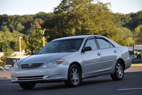 2004 Toyota Camry for sale at T CAR CARE INC in Philadelphia PA