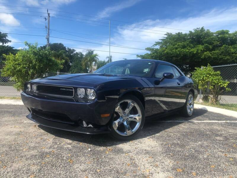 2014 Dodge Challenger for sale at Motor Trendz Miami in Hollywood FL