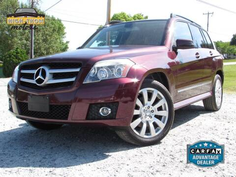 2010 Mercedes-Benz GLK for sale at High-Thom Motors in Thomasville NC