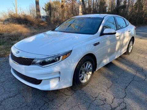 2016 Kia Optima for sale at Speed Auto Mall in Greensboro NC