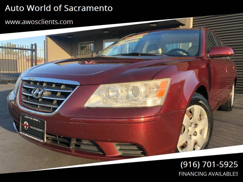 2010 Hyundai Sonata for sale at Auto World of Sacramento Stockton Blvd in Sacramento CA