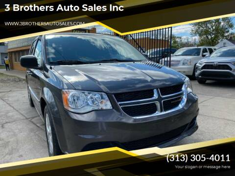 2016 Dodge Grand Caravan for sale at 3 Brothers Auto Sales Inc in Detroit MI