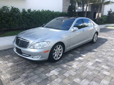 2008 Mercedes-Benz S-Class for sale at CARSTRADA in Hollywood FL