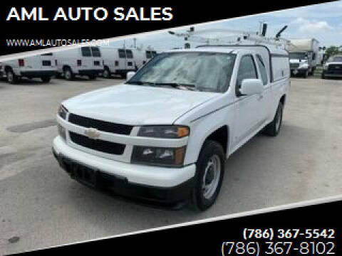2009 Chevrolet Colorado for sale at AML AUTO SALES - Utility Trucks in Opa-Locka FL