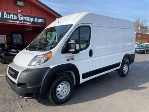 2020 RAM ProMaster Cargo for sale at HUFF AUTO GROUP in Jackson MI