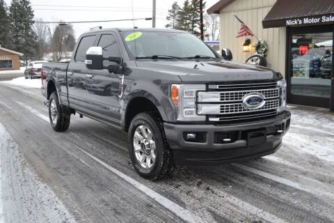 2017 Ford F-350 Super Duty for sale at Nick's Motor Sales LLC in Kalkaska MI