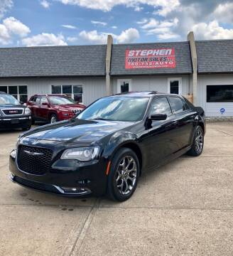 2016 Chrysler 300 for sale at Stephen Motor Sales LLC in Caldwell OH