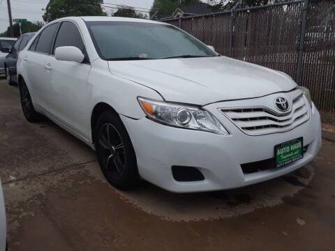 2011 Toyota Camry for sale at Auto Haus Imports in Grand Prairie TX
