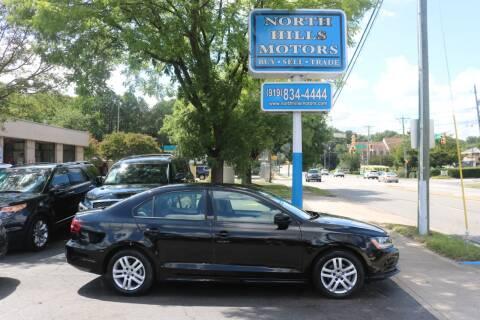 2018 Volkswagen Jetta for sale at North Hills Motors in Raleigh NC