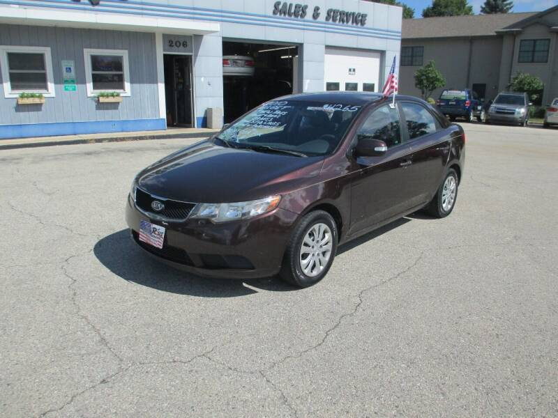 2010 Kia Forte for sale at Cars R Us Sales & Service llc in Fond Du Lac WI