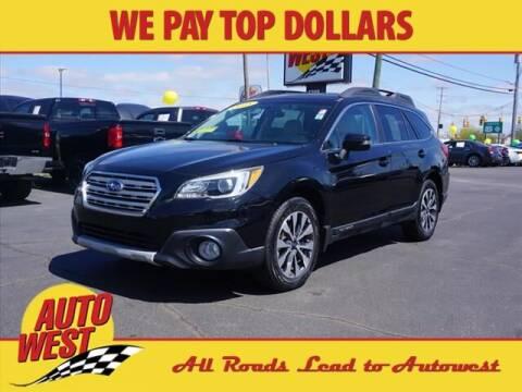 2015 Subaru Outback for sale at Autowest Allegan in Allegan MI