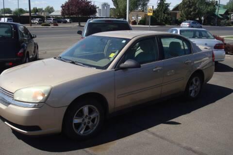 2005 Chevrolet Malibu for sale at Tom's Car Store Inc in Sunnyside WA