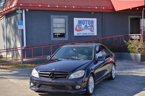 2009 Mercedes-Benz C-Class for sale at Motor Car Concepts II - Kirkman Location in Orlando FL