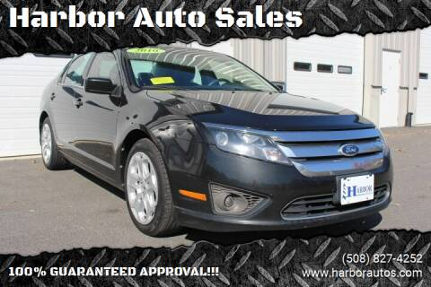 2010 Ford Fusion for sale at Harbor Auto Sales in Hyannis MA