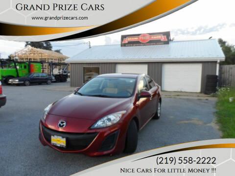 2010 Mazda MAZDA3 for sale at Grand Prize Cars in Cedar Lake IN
