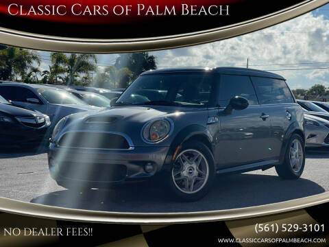 2010 MINI Cooper Clubman for sale at Classic Cars of Palm Beach in Jupiter FL