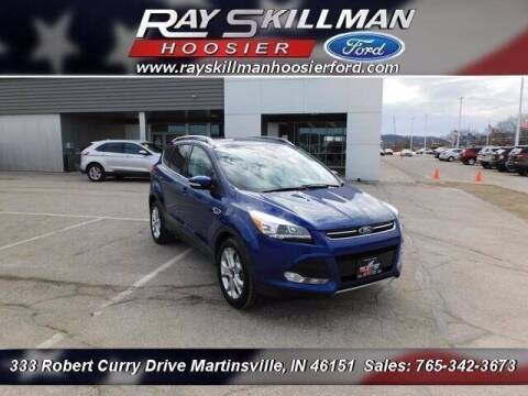 2016 Ford Escape for sale at Ray Skillman Hoosier Ford in Martinsville IN