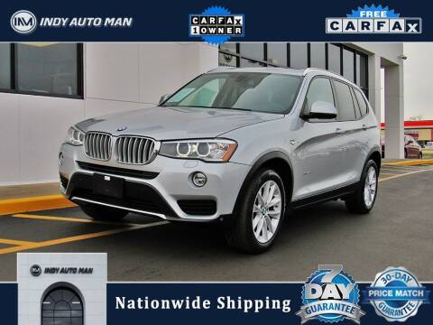 2017 BMW X3 for sale at INDY AUTO MAN in Indianapolis IN