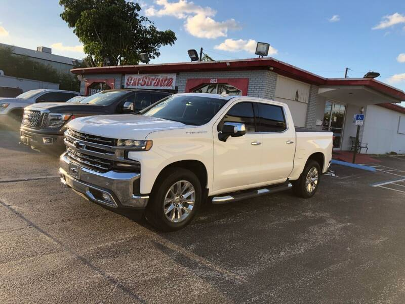 2019 Chevrolet Silverado 1500 for sale at CARSTRADA in Hollywood FL
