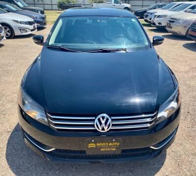 2013 Volkswagen Passat for sale at Good Auto Company LLC in Lubbock TX