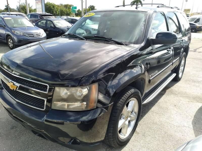 2007 Chevrolet Tahoe for sale at P S AUTO ENTERPRISES INC in Miramar FL