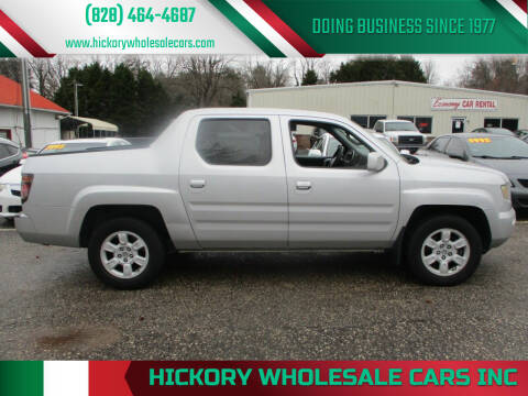 2007 Honda Ridgeline for sale at Hickory Wholesale Cars Inc in Newton NC