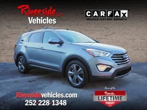 2015 Hyundai Santa Fe for sale at Riverside Mitsubishi(New Bern Auto Mart) in New Bern NC