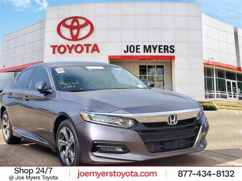 2018 Honda Accord for sale at Joe Myers Toyota PreOwned in Houston TX