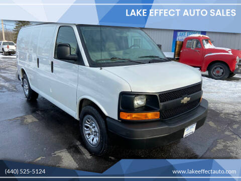 2011 Chevrolet Express Cargo for sale at Lake Effect Auto Sales in Chardon OH
