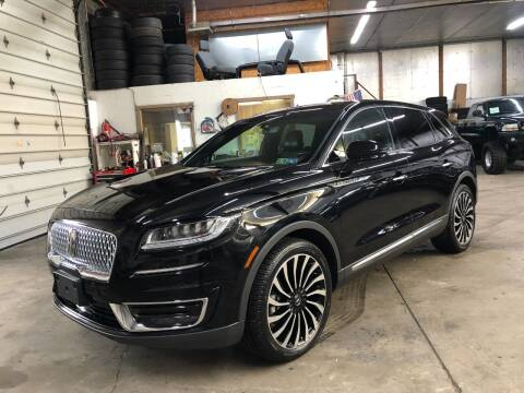 2019 Lincoln Nautilus for sale at T James Motorsports in Gibsonia PA
