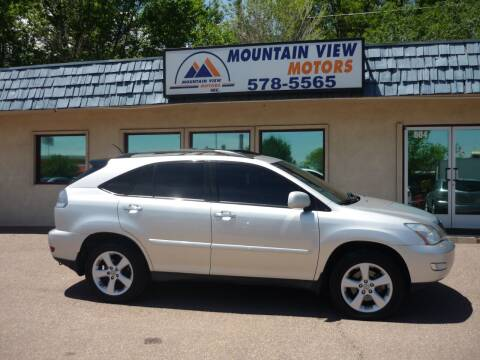 2008 Lexus RX 350 for sale at Mountain View Motors Inc in Colorado Springs CO