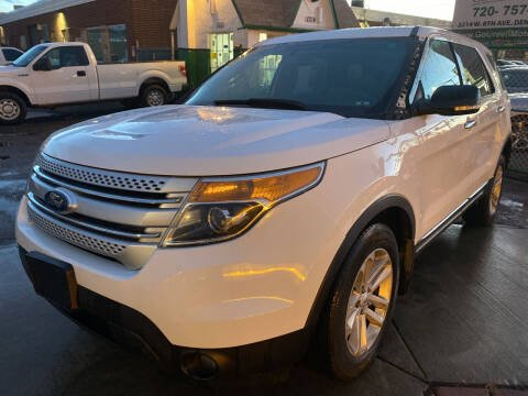 2013 Ford Explorer for sale at GO GREEN MOTORS in Denver CO