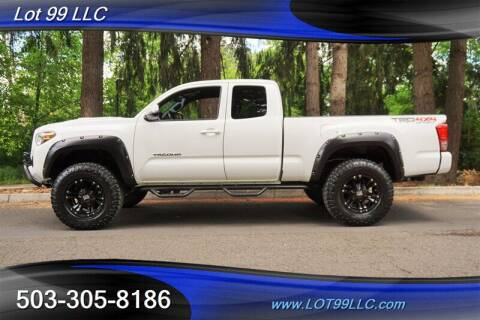 2016 Toyota Tacoma for sale at LOT 99 LLC in Milwaukie OR