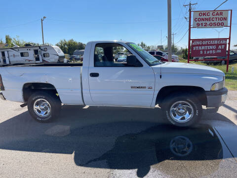 2001 Dodge Ram Pickup 1500 for sale at OKC CAR CONNECTION in Oklahoma City OK