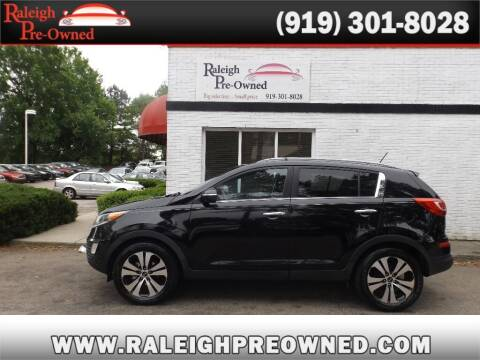 2011 Kia Sportage for sale at Raleigh Pre-Owned in Raleigh NC