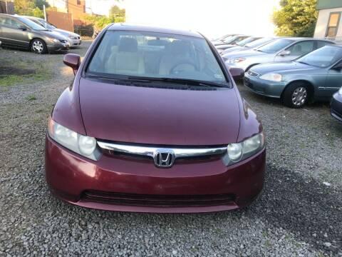 2006 Honda Civic for sale at A & B Auto Finance Company in Alexandria VA