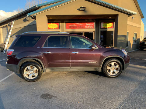 2008 GMC Acadia for sale at Advantage Auto Sales in Garden City ID