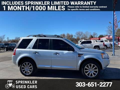 2008 Land Rover LR2 for sale at Sprinkler Used Cars in Longmont CO
