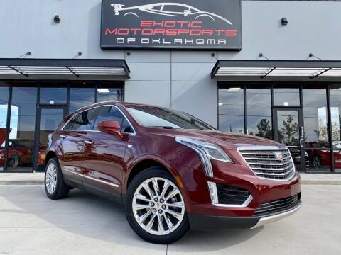 2017 Cadillac XT5 for sale at Exotic Motorsports of Oklahoma in Edmond OK