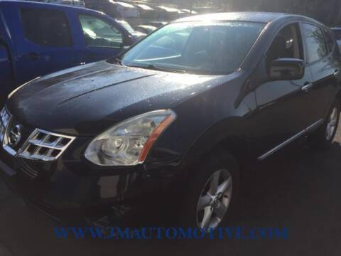 2013 Nissan Rogue for sale at J & M Automotive in Naugatuck CT