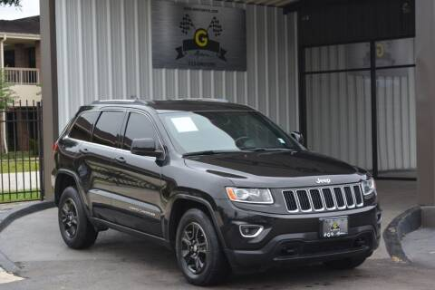 2014 Jeep Grand Cherokee for sale at G MOTORS in Houston TX